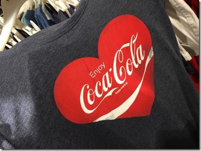Coca-cola shirt @ Terranova