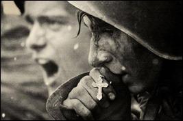 soldados russos antes da batalha de Kursk