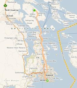Bike trip route