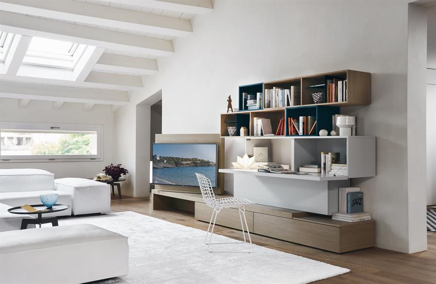 Soggiorni e salotti moderni arredo per la tua casa for Mobile salotto angolare