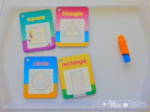 These Melissa & Doug Water Wow shape cards are the perfect no mess activity for busy bags, on the go travel and more for kids.