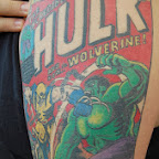 magazine - Incredible Hulk Tattoos Pictures