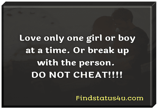 Quotes not cheating Cheating Quotes