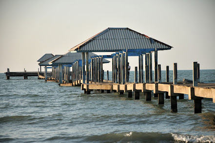 Jembatan Pelabuhan Rusak