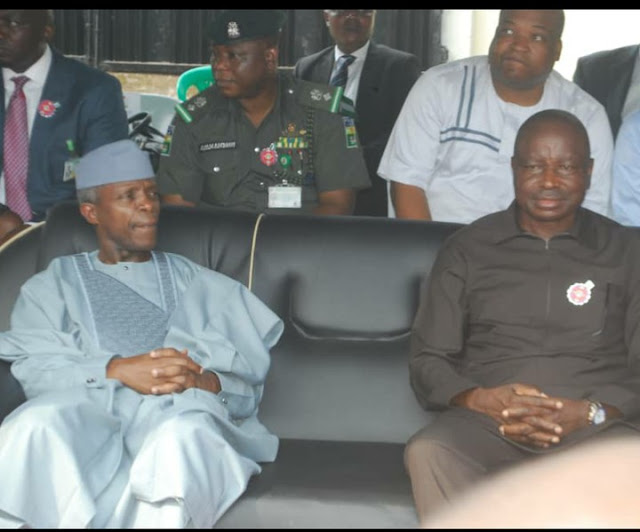 Senator Ayogu Eze and other South East APC governorship candidates meets with the Vice president