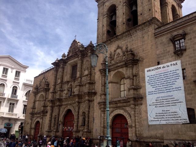San Francisco Plaza La Paz
