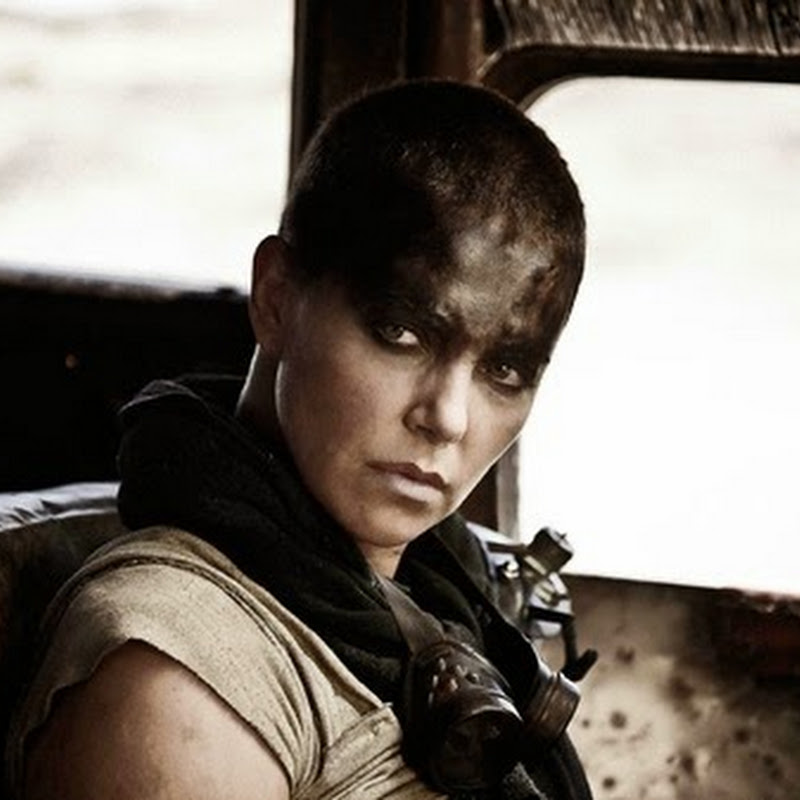 "Hell Hath No Fury Like Charlize Theron in New ""Mad Max"" Film"