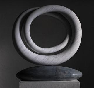 Tulla: CARRARA MARBLE, 2017: W 64cm, H 66 cm, D 14 cm; £12,000