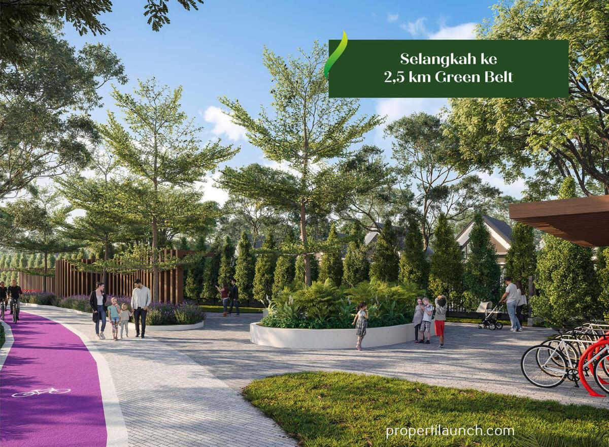 Green Belt Kota Podomoro