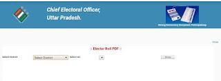 यूपी पंचायत चुनाव वोटर लिस्ट
