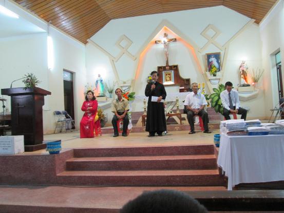 Giáo xứ Hóc Gáo tổng kết và bế giảng niên khóa Giáo lý