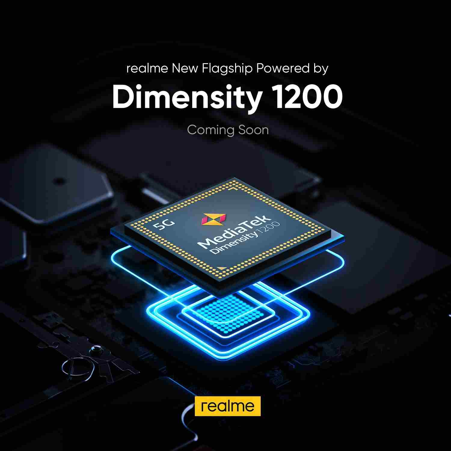 realme flagship to use MediaTek's Dimensity 1200