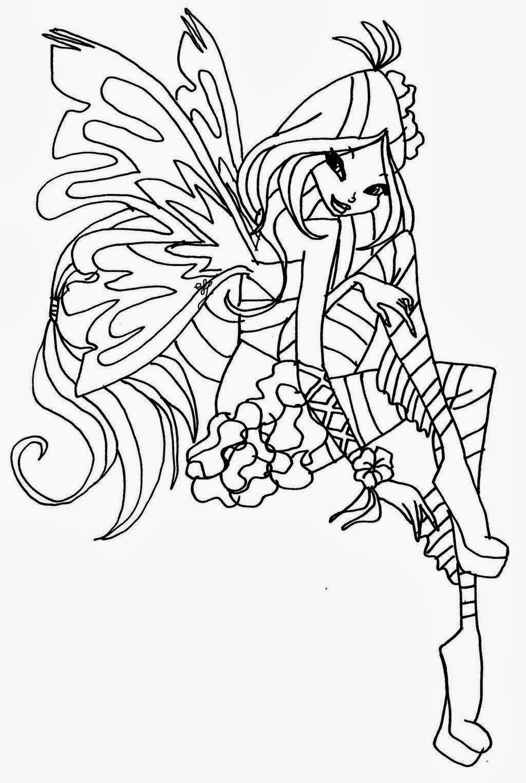 Disegni Da Colorare Di Winx Sirenix Pastoorvanarskijkduin