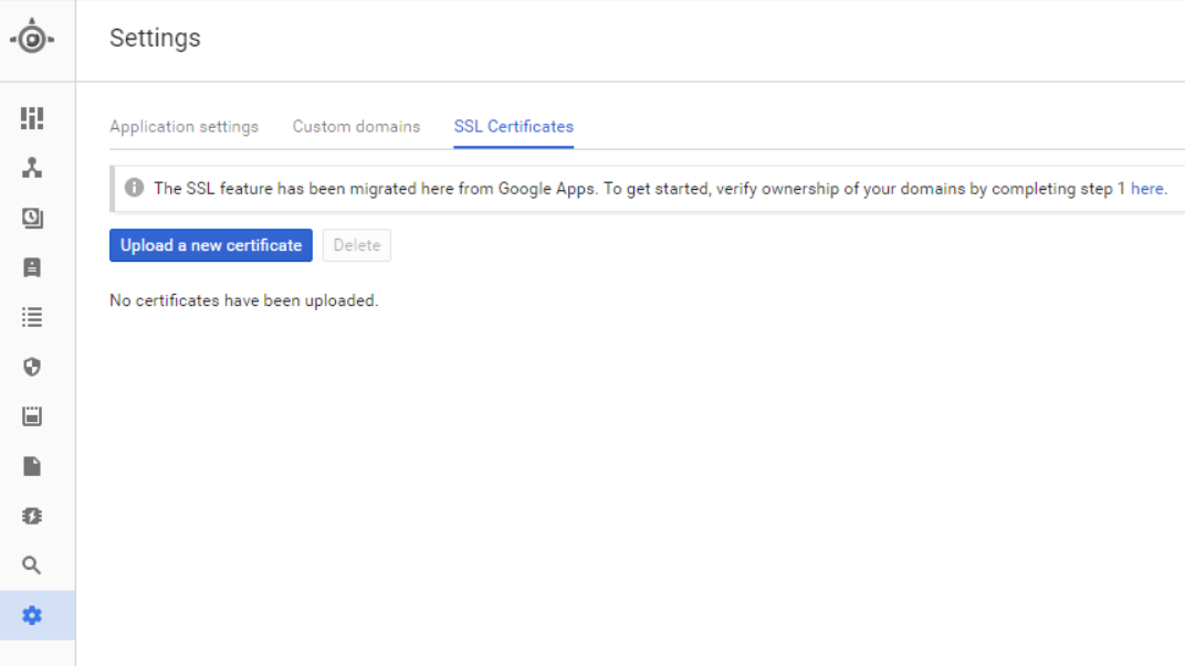 Mapping Google Site To Custom Domain With An Ssl Certificate