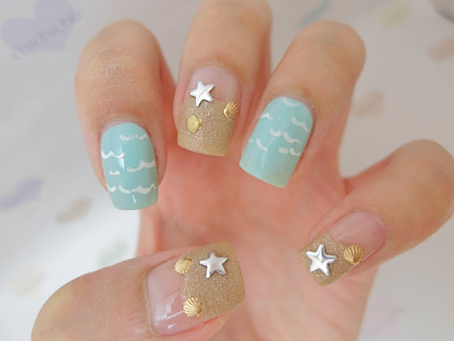 HPB Presents Beach Nail Art