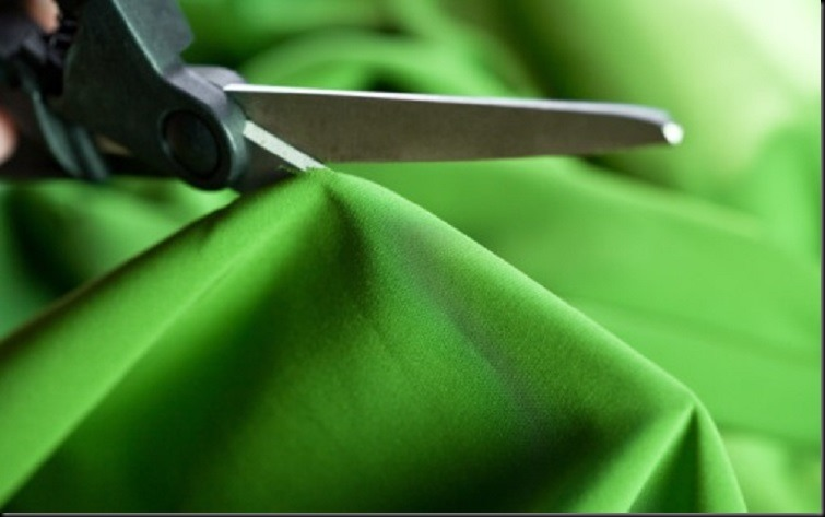 Cutting cloth