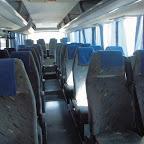 Het interieur van de Marbus van Izletnik bus 875