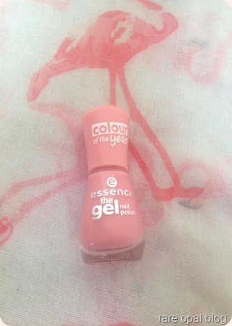 2016 Pantone colour of the year essence nail polish in forgive me. rose quartz, color of the year