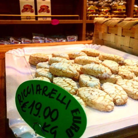 Gluten Free Almond Cookies from Siena Italy