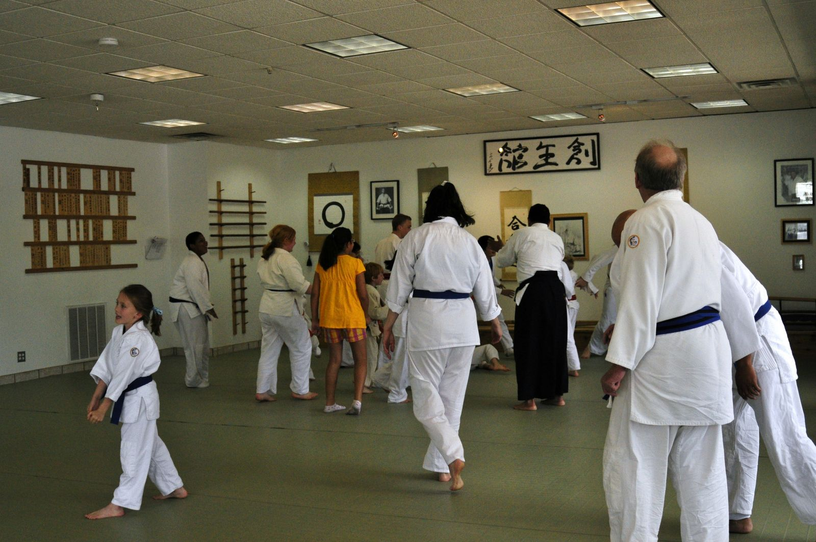 2010 Open House for A Center For The Martial Arts / Soseikan