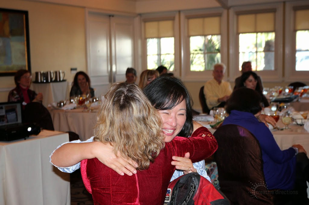 women's wisdom judy foster jan14 luncheon nadine hug