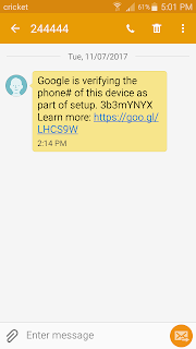 Bizarre Text Message - from Google??? - Gmail Help