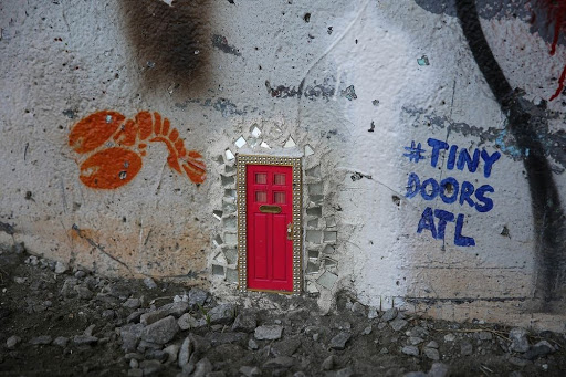tiny-doors-atl-1 & Fairy Doors of Ann Arbor | Amusing Planet