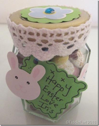 Easter Bunny Sweetie Jar