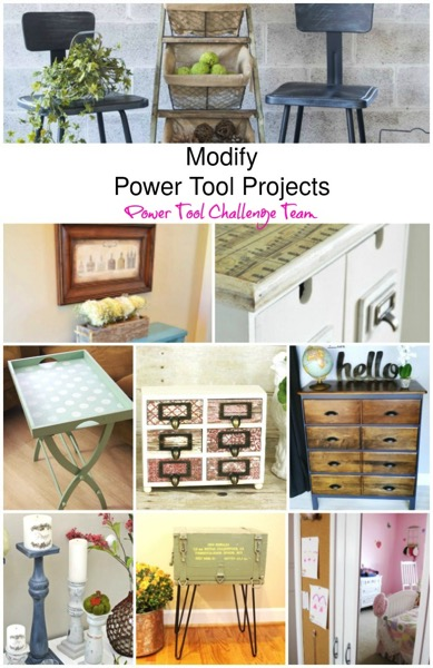 Modify Power Tool Challenge Team Projects