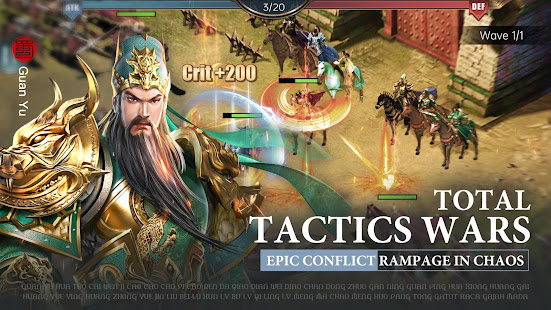 Three Kingdoms: Raja Chaos for PC-Windows 7,8,10 and Mac apk screenshot 4