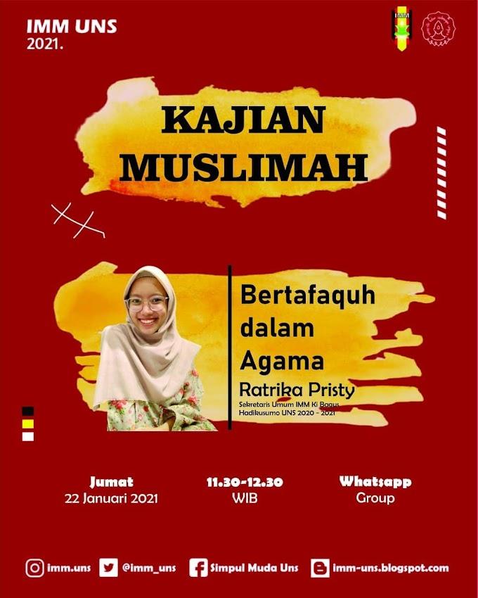 Press Release - Kajian Muslimah 1
