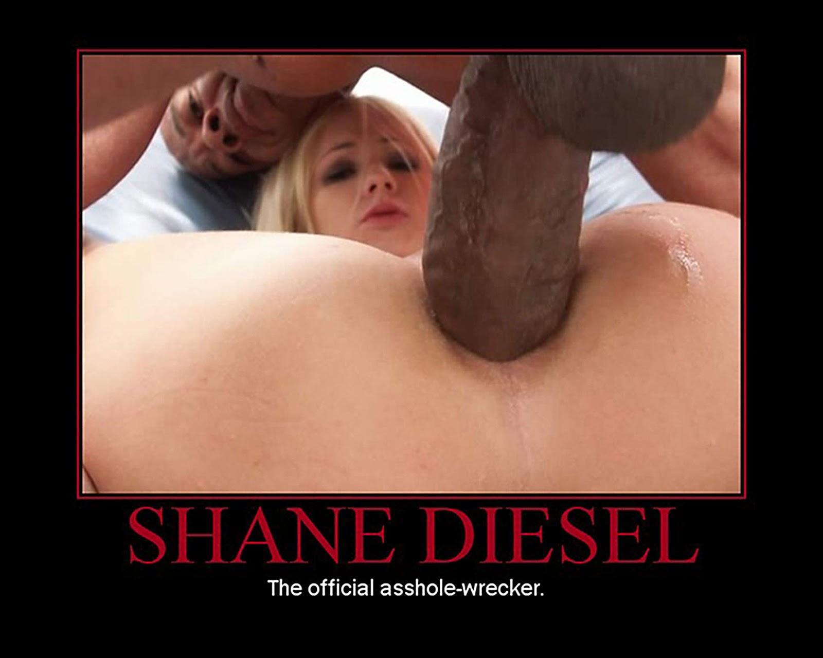diesel dick pic Shane