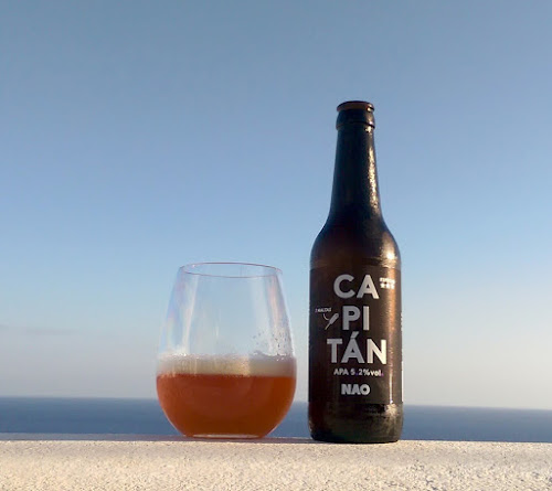 Craft beer, beer review, Capitán APA, Lanzarote beers, Gerry's Kitchen