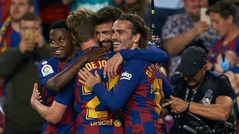 Barcelona young star breaks all-time La Liga record with goal and assist against Valencia