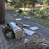 CATTOLICA ERACLEA.  Il gruppo Scout pulisce il  giardino dell'ex asilo nido Balilla