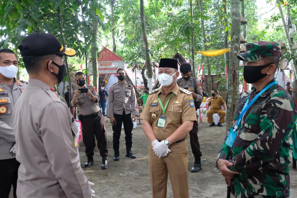 Dampingi Tim Penilai Kampung Rewako, Wabup Gowa Harap Masuk Hingga ke Nasional