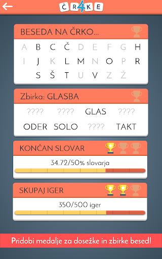 u0160tiri u010crke - Kviz Slovenija  screenshots 3