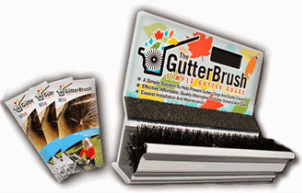 GutterBrush Display