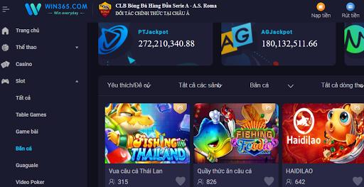 Game Bắn Cá Zui Win365