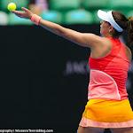 Garbine Muguruza in action at the 2016 Australian Open