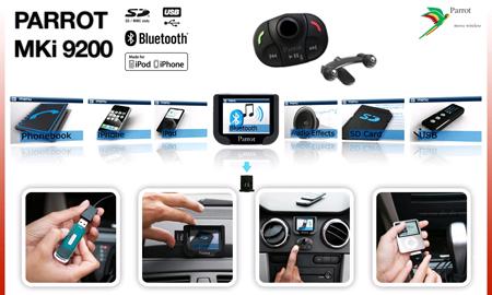 Richard\u0027s auto-electrics blog Parrot MKi9200 Bluetooth Kit Review