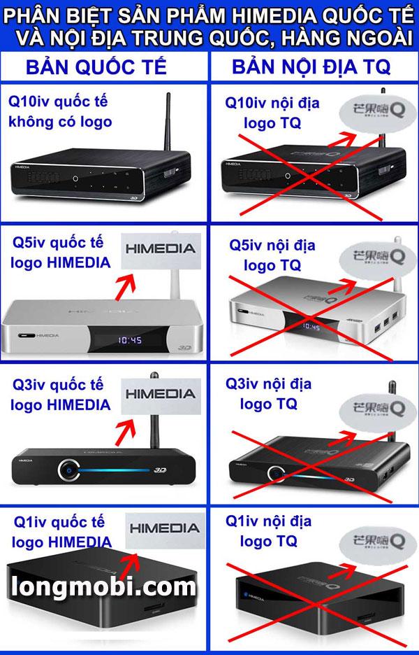 Cách phân biệt đầu phát Himedia chính hãng