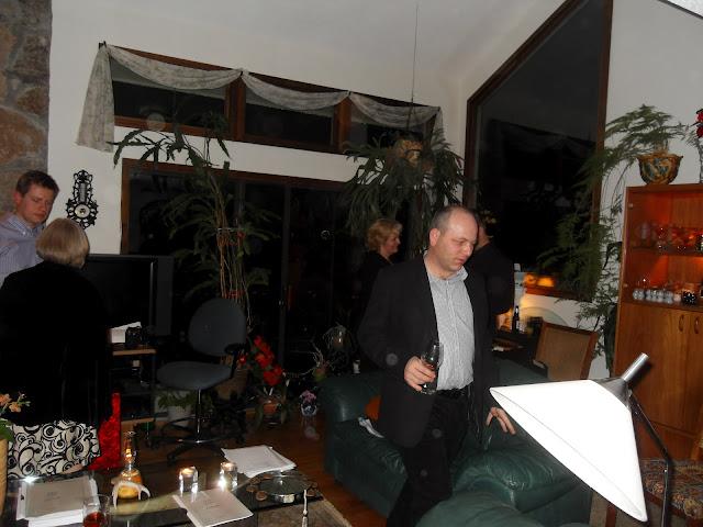01.07.2012 Kolędowanie u pp. Janusza i Wandy Komor.  Zdjęcia Bogdan Kołodyński 01.07.2012 Kolędowan - SDC13616.JPG