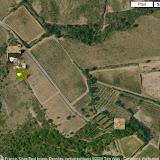 Localisation des photos sur une butte située entre Bages (au Nord) et Brouilla (au Sud)