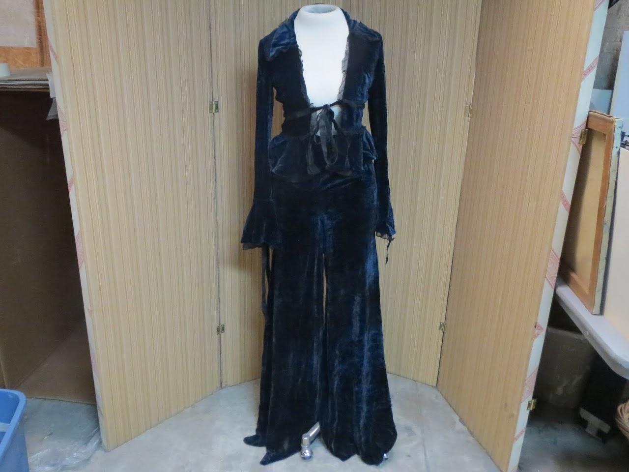 Emilo Pucci Crushed Velvet Suit