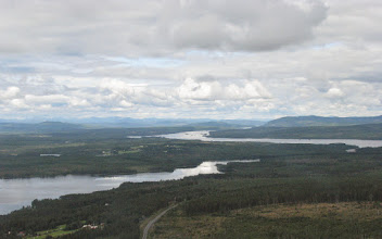 Photo: Lövsjön och Hotagssjön