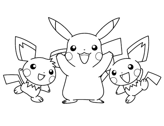Pokemon Coloring Pages Kids Coloring Pages For Baby Pokemon Coloring Pages