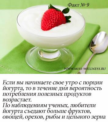 интересные факты о йогурте 9
