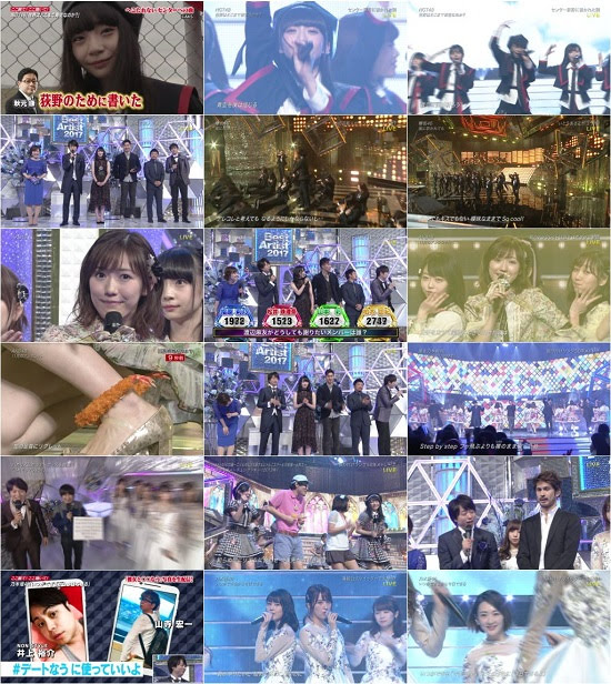 (TV-Music)(1080i)AKB48G 46G – NTV Best Artist 2017 171128
