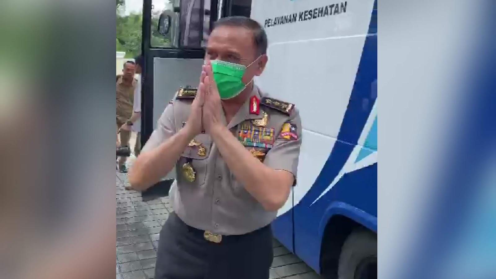 Mundur dari Polisi, Iwan Bule: Mohon Maaf Perilaku yang Kurang Pas
